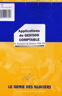 Applications de gestion comptable BTS Assistant de Gestion PME-PMI