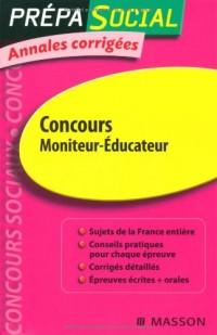 Concours Moniteur-éducateur : Annales corrigées