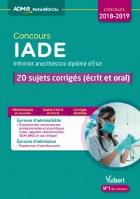 Concours Iade Sujets Corriges