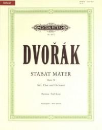 EDITION PETERS DVORÁK ANTON - STABAT MATER OP.58 - FULL SCORES