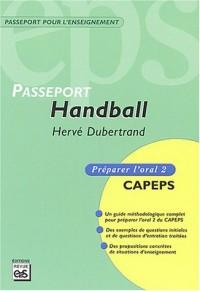 Handball : Préparer l'oral 2 CAPEPS