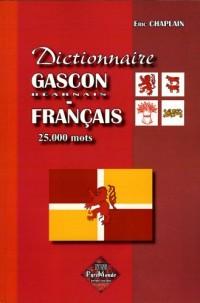 Dictionnaire gascon/béarnais-français, 25.000 mots
