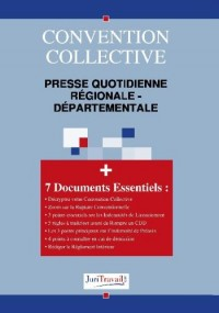 3141. Presse quotidienne régionale-départementale Convention collective
