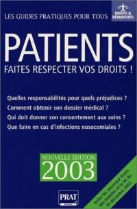 Patients, faites respecter vos droits !