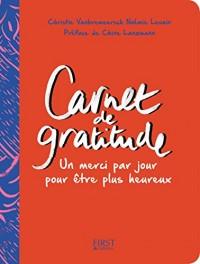 Carnet de gratitude