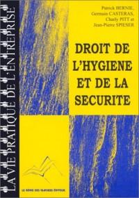 Droit de l'hygiène et de la securite