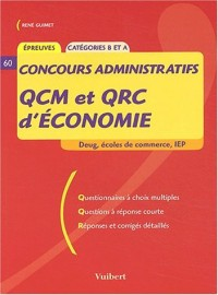 QCM et QRC d'économie Concours administratifs catégories B et A