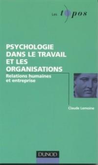 Psychologie dans le travail et les organisations