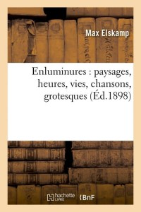 Enluminures  Paysages  ed 1898
