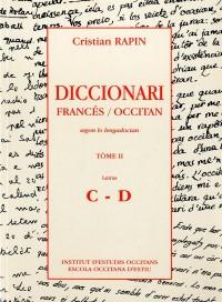 Diccionari frances occitan tome II