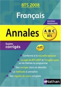 Annales Français BTS