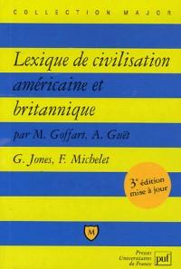 Lexique de civilisation américaine et britannique