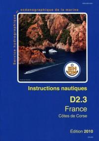 Inst. Nautiques Cotes Corse