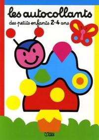 Les autocollants des petits enfants 2-4 ans : Petite chenille