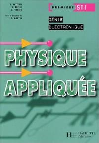 Physique appliquée, Première STI Génie électronique