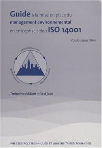 Guide à la mise en place d'un management environnemental en entreprise selon ISO 14001