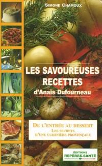 Les savoureuses recettes d'Anaïs Dufourneau