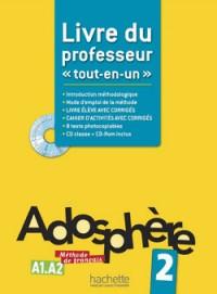Adosphere 2 - Livre du Professeur + CD-ROM Encarte