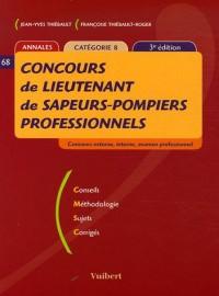 Concours de lieutenant de sapeurs-pompiers professionnels : Annales Catégorie B