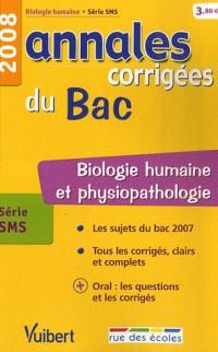 Biologie humaine série SMS : Annales corrigées du Bac