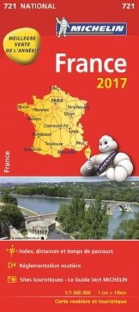 Carte Nationale 721 France 2017