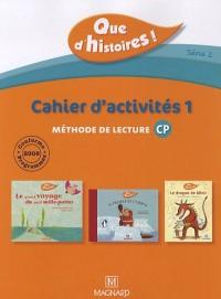Que d'histoires CP série 2 cahier 1 + mémo des sons