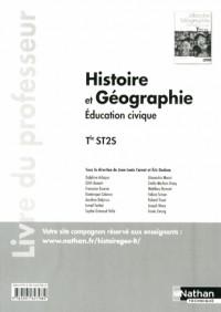 Histoire Geographie Education Civique  Term St2s  Professeur  2013