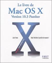 Le livre de MAC OS X.3 Panther