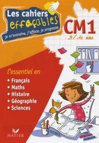 Les cahiers effaçables CM1 : Je m'entraîne, j'efface, je progresse