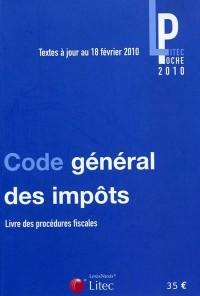 Code général des impôts : Livre des procédures fiscales