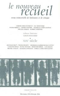 Le nouveau recueil, N° 77 : Nos dix-neuvièmes