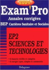 Exam'Pro numéro, 17 : Carrières Sanitaires et Sociales, BEP (Annales corrigées)