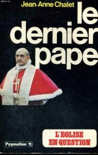 Le Dernier pape