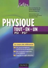 Physique tout-en-un PSI, PSI* - 2ème édition - Cours et exercices corrigés