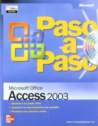 Microsoft Office Access 2003 Paso a Paso