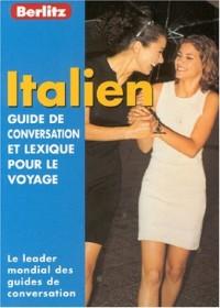 Guide de conservation et lexique pour le voyage : Italien