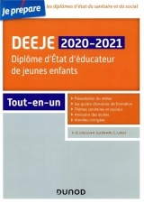 DEEJE 2019/2020- Diplôme d'État d'éducateur de jeunes enfants - Tout-en-un