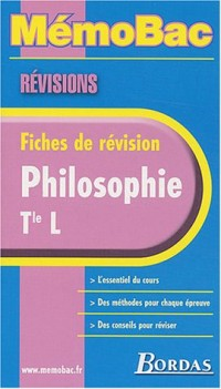 MEMO REVISION PHILO TERM L    (Ancienne Edition)