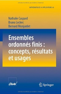 Ensembles ordonn??s finis : concepts, r??sultats et usages