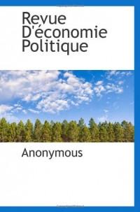 Revue D'économie Politique