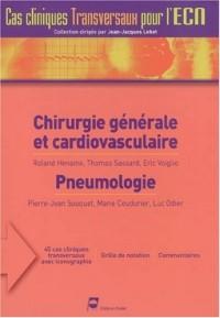 Chirurgie générale et cardiovasculaire - Pneumologie