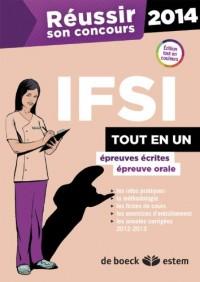 Réussir son concours IFSI 2014 tout en un