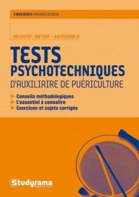 Les tests psychotechniques d'auxiliaire de puériculture