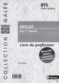 Anglais BTS 1e année : Livre du professeur