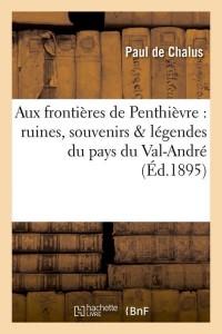 Aux Frontieres de Penthievre  ed 1895