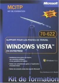 Windows Vista en entreprise : Support pour les postes de travail - Examen MCITP 70-622