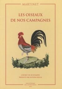 Coffret Les oiseaux de nos campagnes : Coffret de 20 estampes