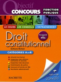 Droit constitutionnel catégories A et B
