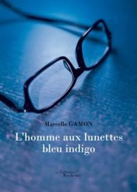 L'homme aux lunettes bleu indigo