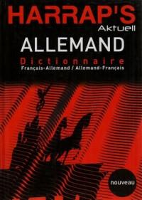 Harrap's Aktuell Allemand : Dictionnaire français-allemand et allemand-français